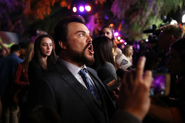 Jack Black Premiere of Columbia Pictures' 'Jumanji: Welcome to the Jungle' - Red Carpet