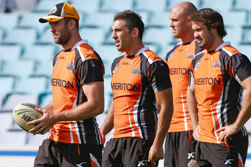 Jack Buchanan Wests Tigers Training Session