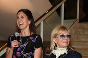 "Amanda Lambert and Nancy Sinatra speak at Jack Daniel's Sinatra Select celebration of the Grammy Museum's ""Sinatra: An American Icon"" at The New York Public Library of Performing Arts on March 3, 2015 in New York City."