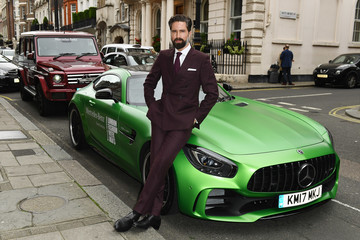 Jack Guinness Mercedes-Benz Is Official Car Partner to London Fashion Week Men's 5th Anniversary Party