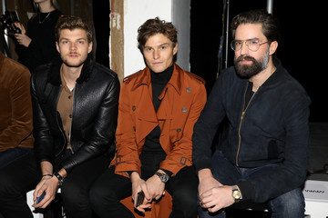 Jack Guinness Celebrities & Front Row - Day 2 - LFW Men's January 2017