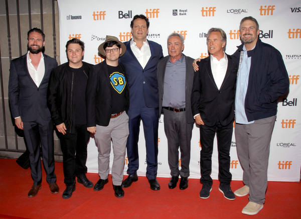 2017 Toronto International Film Festival - 'Brawl in Cell Block 99' Premiere [brawl in cell block 99,event,premiere,suit,carpet,red carpet,flooring,peter kuplowsky,don johnson,vince vaughn,udo kier,jack heller,dallas sonnier,l-r,premiere,toronto international film festival]
