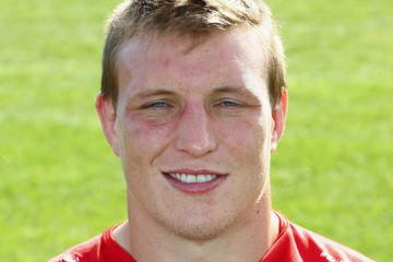 Jack O'Connell Bristol Rugby Photocall