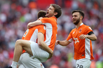 Jack Payne Blackpool v Exeter City - Sky Bet League Two Playoff Final