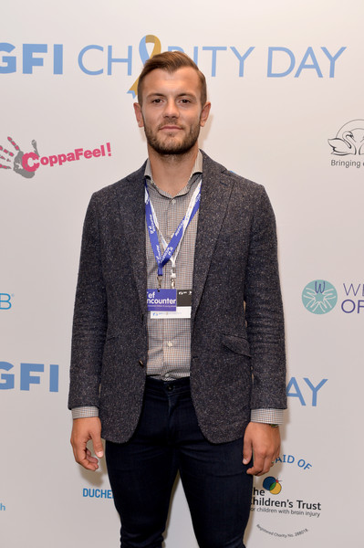 GFI Charity Day 2019 [yellow,fashion,suit,event,outerwear,facial hair,carpet,white-collar worker,blazer,premiere,employees,jack wilshere,grief encounter,england,london,world trade center,gfi charity,gfi charity day,attacks]