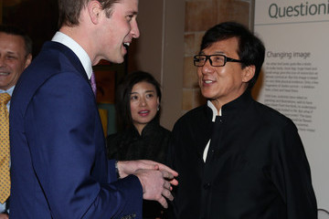 Jackie Chan Prince William at the Illegal Wildlife Trade Conference