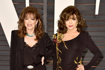 Jackie Collins Arrivals at the Elton John AIDS Foundation Oscars Viewing Party — Part 5