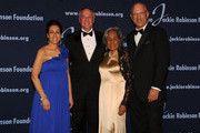President and Chief Executive Officer Della Britton Baeza, CEO of Unilever Paul Polman, Chariman Leonard S. Coleman, Jr. and Founder Rachel Robinson attends the Jackie Robinson Foundation Annual Awards Dinner at the The Waldorf Astoria on March 8, 2010 in New York City.