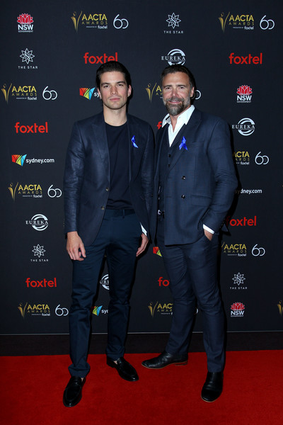 2018 AACTA Awards Presented By Foxtel | Industry Luncheon - Red Carpet [carpet,premiere,event,suit,red carpet,formal wear,jeremy lindsay taylor,jackson gallagher,aacta awards,industry luncheon,australia,sydney,foxtel,red carpet,foxtel | industry luncheon,the star]