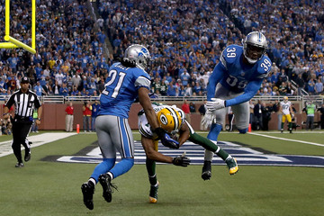 Jacob Lacey Green Bay Packers v Detroit Lions