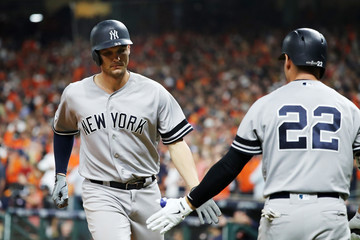 Jacoby Ellsbury League Championship Series - New York Yankees v Houston Astros - Game One