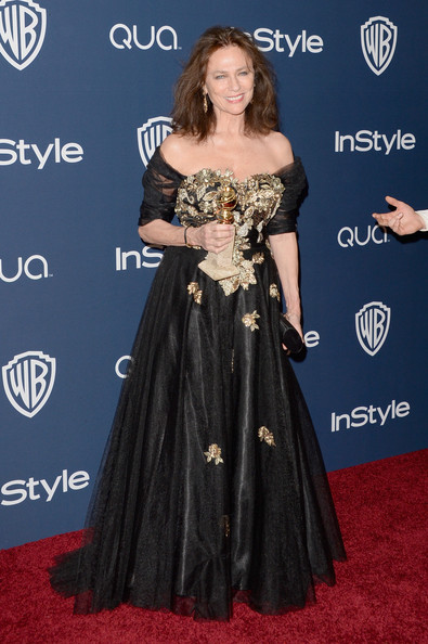 Jacqueline Bisset - Arrivals at the InStyle/Warner Bros. Golden Globes Party — Part 2