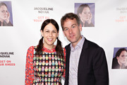 """Jen Stein and Mike Birbiglia attend the opening night of """"Jacqueline Novak: Get on Your Knees"""" at Cherry Lane Theatre on July 22, 2019 in New York City."""