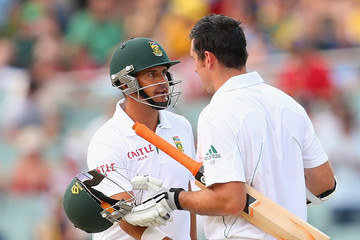 Jacques Rudolph Australia v South Africa - Second Test: Day 2