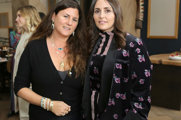 Jacquie Aiche Tania Fares Norah Restaurant Hosts CFDA Fashion Trust 'A Toast To Stylists' Pre-Oscar Brunch Hosted By British Vogue's Tania Fares
