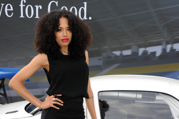 Jade Ewen Celebrities Attend the Laureus Polo Cup