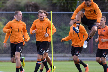 Jade North Brisbane Roar Training Session
