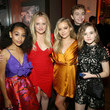 Jade Pettyjohn Hulu Holiday Party 2019