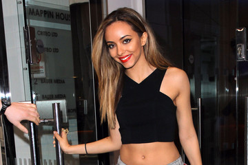 Jade Thirlwall Little Mix Leaves the Kiss FM Studios