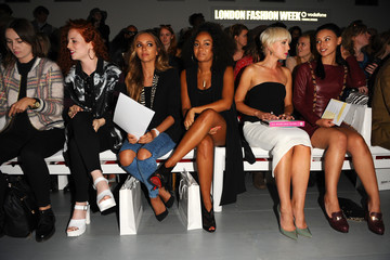 Jade Thirlwall Day 1: Front Row - London Fashion Week SS15