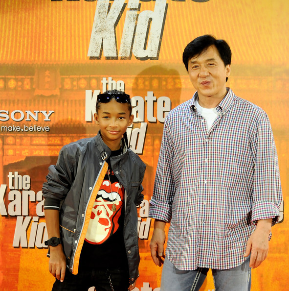 Jackie Chan in Jaden Smith and Jackie Chan Attend 'The ...