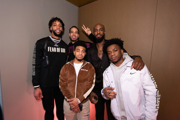 Jahlil Okafor Hennessy All-Star Saturday Night With Nas, A$AP Ferg, & Da Baby