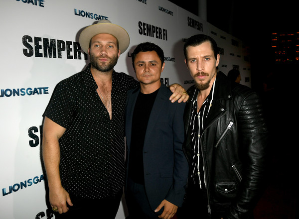 Special Screening Of Lionsgate's 'Semper Fi' - Red Carpet [semper fi,premiere,event,performance,red carpet,arturo castro,beau knapp,courtney,l-r,arclight hollywood,lionsgate,screening,premiere]