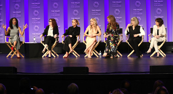 The Paley Center For Media's 35th Annual PaleyFest Los Angeles - 'Mom' - Inside [television show,entertainment,performance,performing arts,event,choreography,talent show,dance,performance art,musical theatre,fashion,mom,nischelle turner,allison janney,mimi kennedy,anna faris,l-r,los angeles,paley center for media,paleyfest]