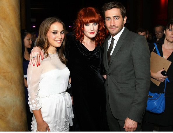 In This Photo: Jake Gyllenhaal, Natalie Portman, Florence Welch