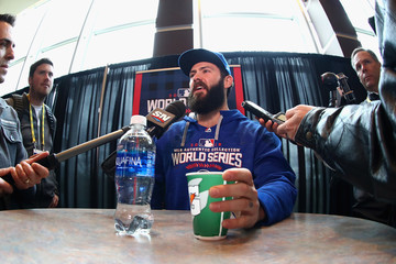 Jake Arrieta World Series - Chicago Cubs v Cleveland Indians - Media Day