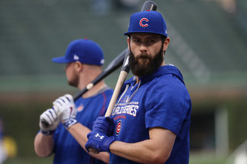 Jake Arrieta World Series - Cleveland Indians v Chicago Cubs - Game Three