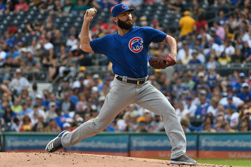 Jake Arrieta Chicago Cubs v Pittsburgh Pirates