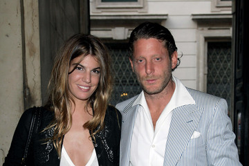 Lapo Elkann Bianca Brandolini D'adda Jake And Dinos Chapman Opening At The ProjectB Gallery