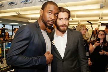 Jake Gyllenhaal Annual Charity Day Hosted by Cantor Fitzgerald and BGC - Cantor Fitzgerald Office - Inside
