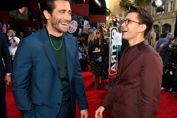 Jake Gyllenhaal Tom Holland Premiere Of Sony Pictures' 'Spider-Man Far From Home'  - Red Carpet