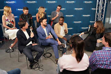 Jake Johnson Hannibal Buress SiriusXM's Town Hall With The Cast Of 'Tag' Hosted By SiriusXM Host Michelle Collins