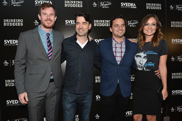 Jake Johnson Joe Swanberg 'Drinking Buddies' Afterparty in Hollywood