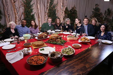 Jake Lacy 'Love The Coopers' Cast Holiday Dinner / Today Show Appearance