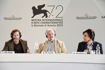 Jake Paltrow 'De Palma' and 'Jaeger-LeCoultre Glory to the Filmmakers 2015 Awards' Press Conference - 72nd Venice Film Festival