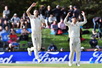 James Anderson New Zealand vs. England - 2nd Test: Day 2