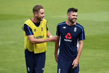 James Anderson England & West Indies Net Sessions