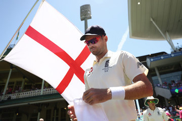 James Anderson Australia v England - Fifth Test: Day 3