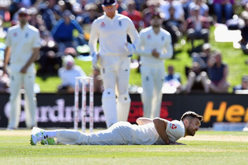 James Anderson New Zealand vs. England - 2nd Test: Day 3