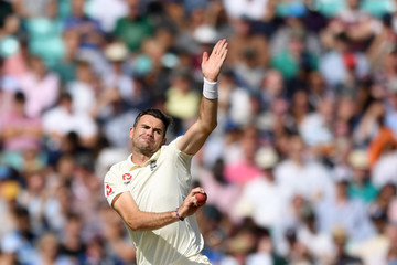 James Anderson England vs. India: Specsavers 5th Test - Day Three