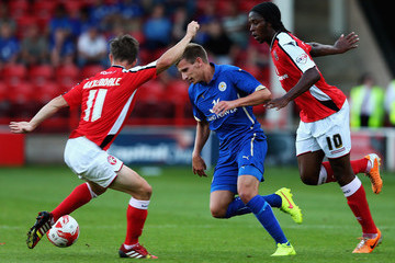 James Baxendale Walsall v Leicester City