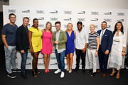 (L-R) Trevor Guthrie, Marc Murphy, Tiffany Derry, Cindy McLoughlin, Richard Blais, Clare Reichenbach, Kwame Onwuachi, Elizabeth Falkner, Tony Messina, and Danielle Leoni attend as The James Beard Foundation kicks off the 2019-20 Taste America,presented byofficial banking and credit card partnerCapital One,with a tasting partyinNew York Citycelebrating sustainability and inclusivity with chefsfromacross the country.