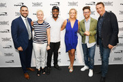 (L-R) Tony Messina, Elizabeth Falkner, Kwame Onwuachi, Clare Reichenbach, Richard Blais, and Marc Murphy attend as The James Beard Foundation kicks off the 2019-20 Taste America,presented byofficial banking and credit card partnerCapital One,with a tasting partyinNew York Citycelebrating sustainability and inclusivity with chefsfromacross the country.