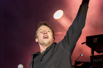 James Blunt James Blunt Performs At Top Of The Mountain Concert
