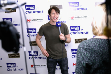 James Blunt Magic Of Christmas - Backstage