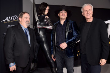 James Cameron Premiere Of 20th Century Fox's 'Alita: Battle Angel' - Red Carpet